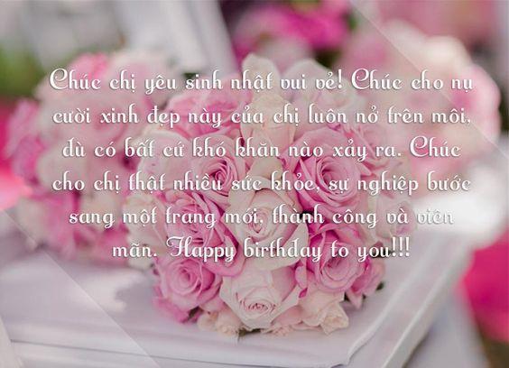 Ảnh sinh nhật ý nghĩa kèm lời chúc hay dành cho chị gái