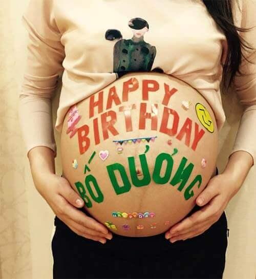 Những hình ảnh sinh nhật dễ thương dành cho bố Dương