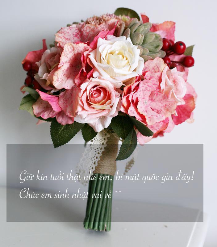 Ảnh hoa mừng sinh nhật tặng người yêu