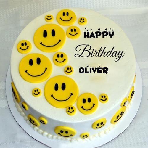 Bánh sinh nhật hình mặt cười vui nhộn