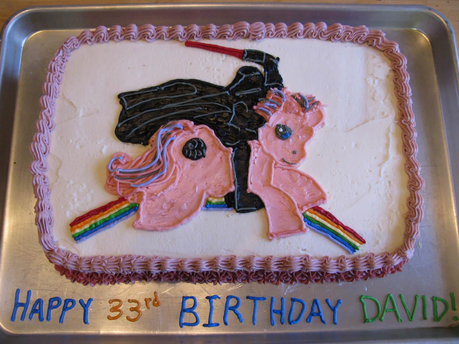 Chiếc bánh happy birthday vui nhộn cho các bé U30