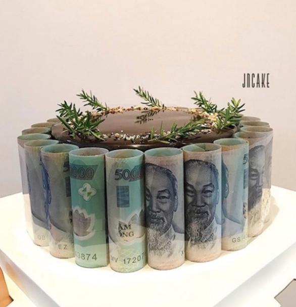 Hình ảnh chúc mừng sinh nhật bằng tiền độc đáo