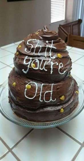 Tặng bạn chiếc bánh sinh nhật khi bạn về già....