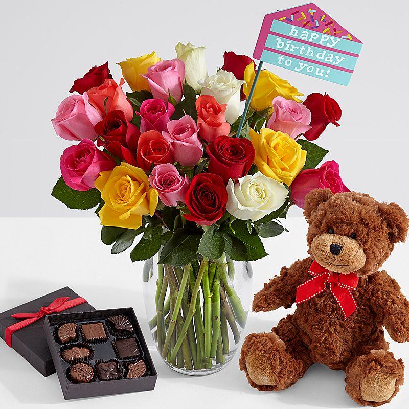 Tải hoa sinh nhật tặng bạn đẹp nhất
