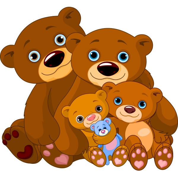 Chuyện cho bé ngủ mỗi đêm thứ 2 - Gấu con chia quà