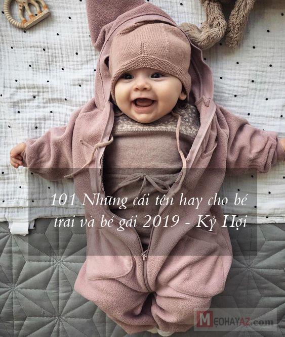 101 những cái tên hay cho bé trai và bé gái 2019 - Kỷ Hợi