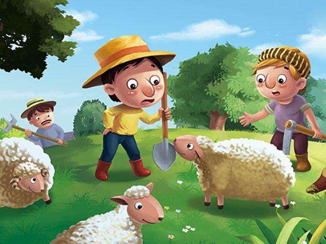 Câu chuyện cậu bé chăn cừu và cây đa cổ thụ