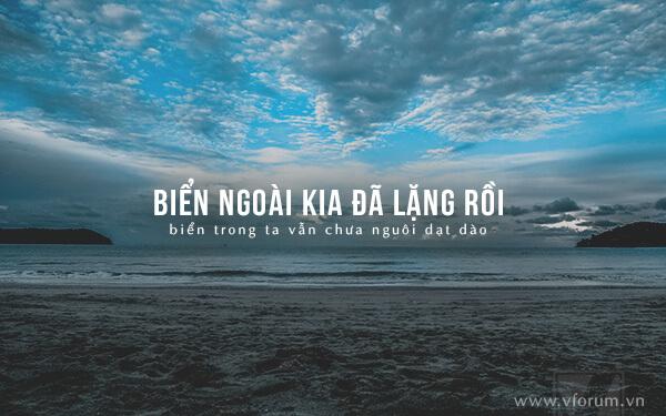 Những câu nói hay về biển và tình yêu