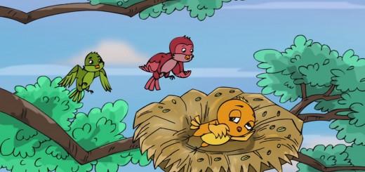 Truyện kể cho bé ngủ ngon - Chú chim nhỏ lười biếng