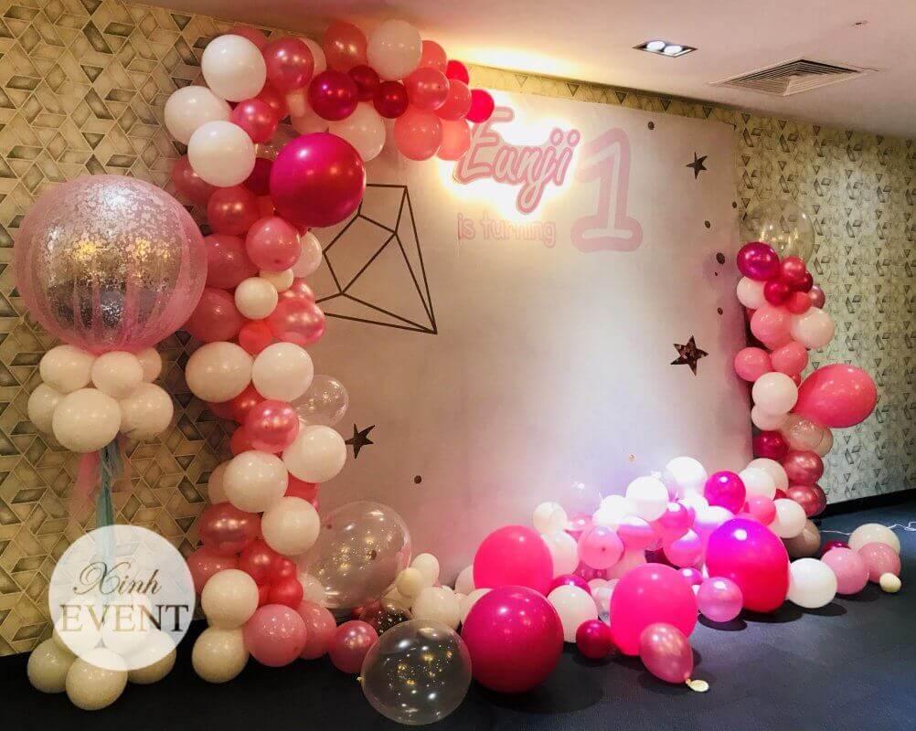 Dịch vụ tổ chức sinh nhật tại Xinh Event