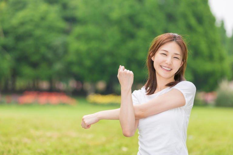 Làm đẹp da sau sinh bằng tập thể dục