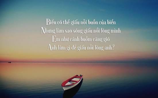 Những bài thơ lãng mạn về biển hay