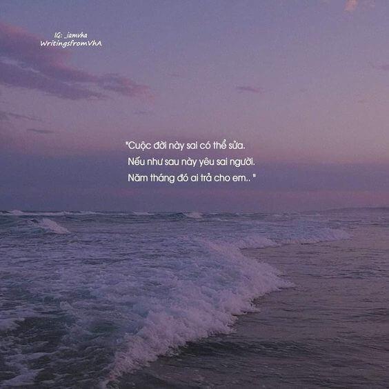 Những câu thơ hay về biển và ấn tượng