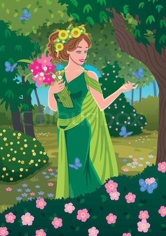 Truyện kể cho bé sơ sinh thứ 2 - Nữ thần mùa xuân