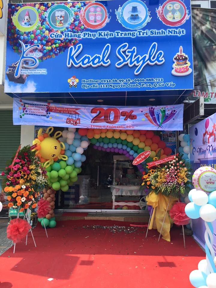 Cửa hàng sinh nhật Kool Styel