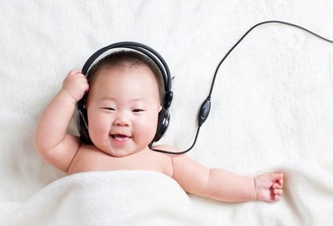 Âm nhạc giúp bé dễ ngủ và ngủ ngon hơn
