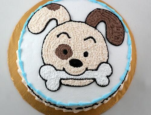 Bánh sinh nhật tuổi chó