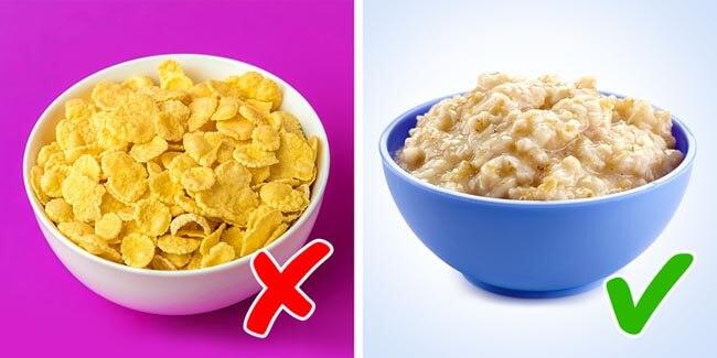Các loại ngũ cốc tinh chế cũng là những thực phẩm không tốt cho sức khỏe