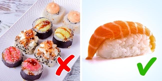 Các loại sushi cải tiến chứa nhiều chất phụ gia không tốt cho sức khỏe