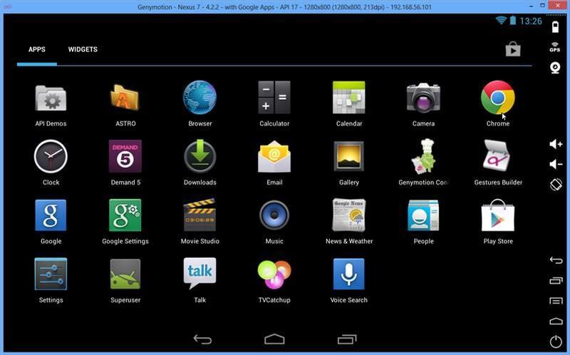 Genymotion For Mac - Giả Lập Android Chuyên Nghiệp Cho Máy Tính