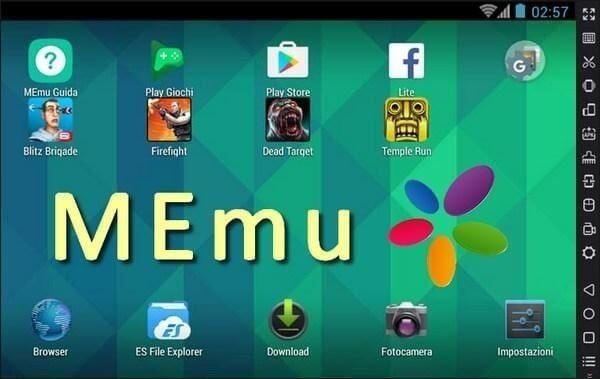 Phần mềm giả lập Android cho PC - Memu