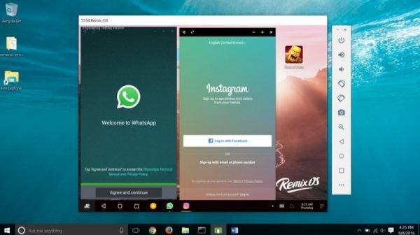 Giả lập Android trên PC với Remix OS đa nhiệm thú vị