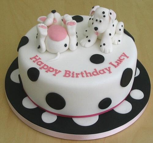 Hình ảnh bánh sinh nhật tuổi chó