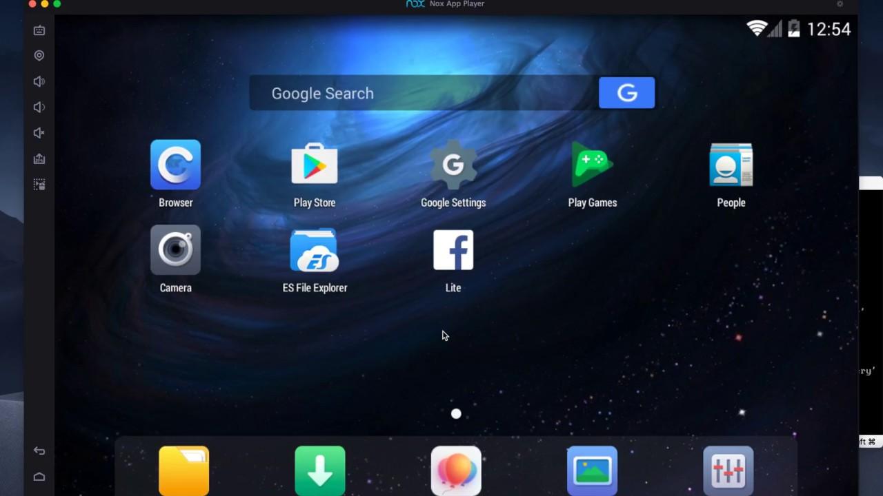 NoxPlayer For Mac - Giả Lập Android Để Chơi Game, Chạy Ứng Dụng Trên Máy Tính