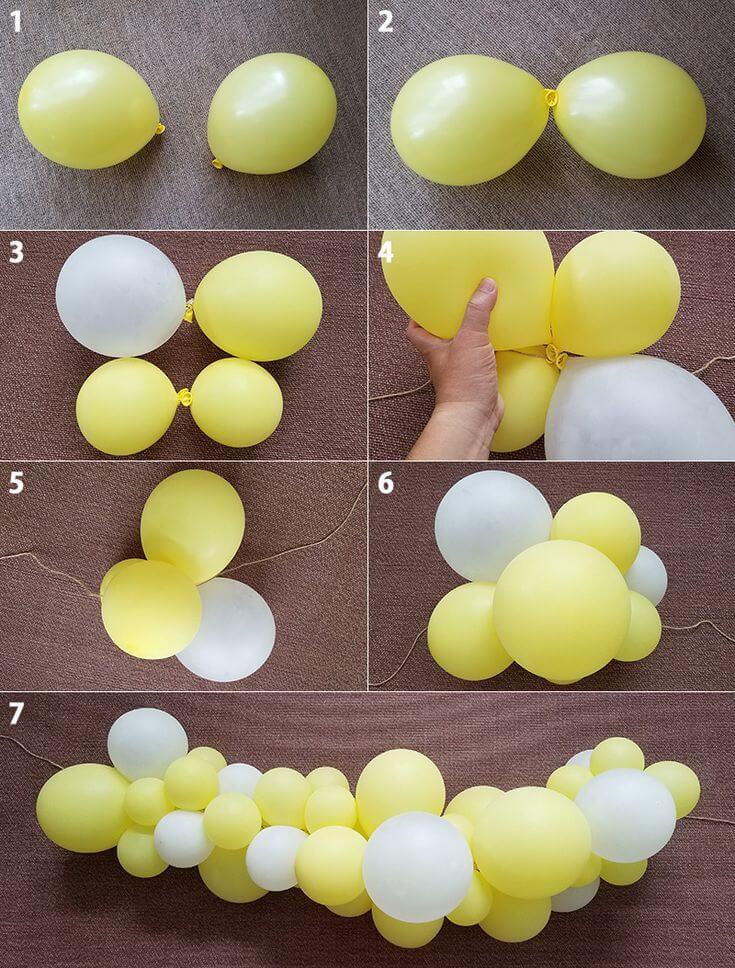 Các bước cách trang trí bong bóng có thể sử dụng ở mọi bữa tiệc