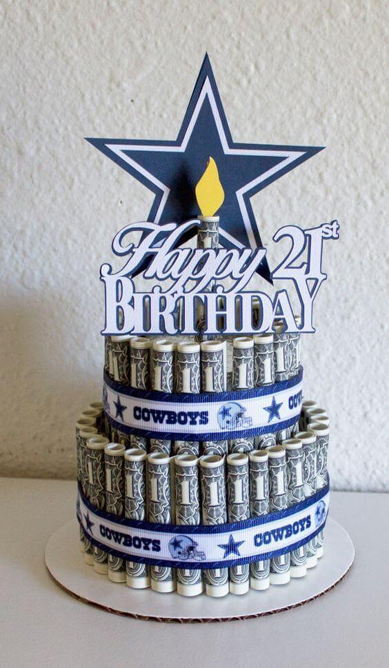 Bánh sinh nhật đẹp độc dành cho tuổi 21