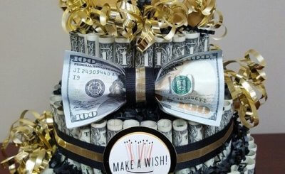 Hình ảnh mừng sinh nhật bằng tiền độc đáo gửi tặng bạn bè