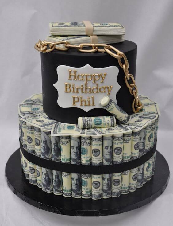 Hình ảnh sinh nhật tiền dành cho bạn bè và người thân