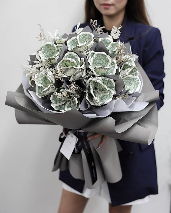Hoa tiền sinh nhật cực đẹp tặng bạn bè chúc sự nghiệp thành công