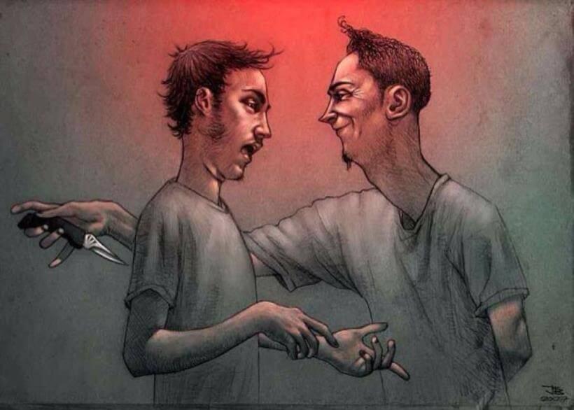 Tổng hợp những câu nói hay về con người 2 mặt hay đâm sau lưng bạn bè