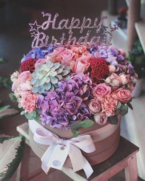 Ảnh hoa sinh nhật đẹp dành tặng cho người yêu