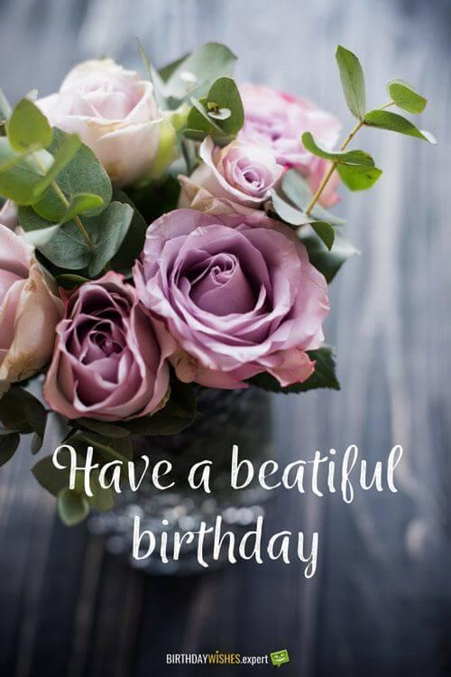 Hình ảnh hoa đẹp tặng sinh nhật vợ kèm lời chúc ngọt ngào