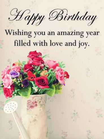 Hình ảnh hoa sinh nhật đẹp và ý nghĩa với những lời chúc đáng yêu dành tặng cho vợ