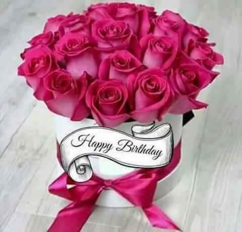 Hình ảnh sinh nhật độc đáo với hoa hồng