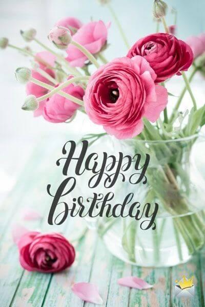 Tải ảnh hoa sinh nhật đẹp nhất dành tặng người thân