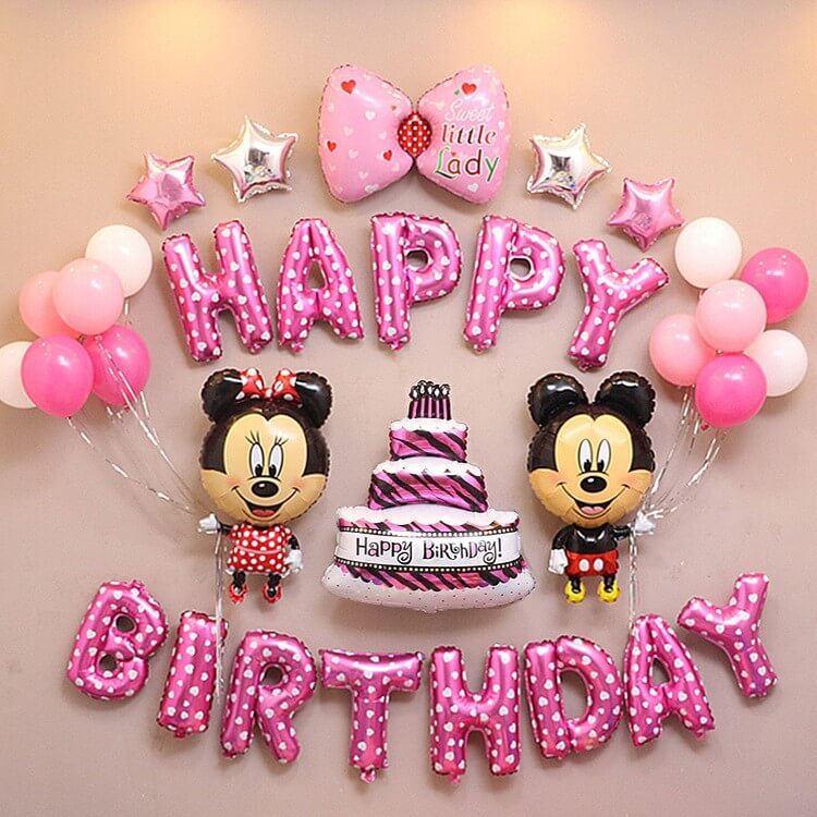 Ảnh chúc mừng sinh nhật cho bé gái sinh năm tuổi tý dễ thương