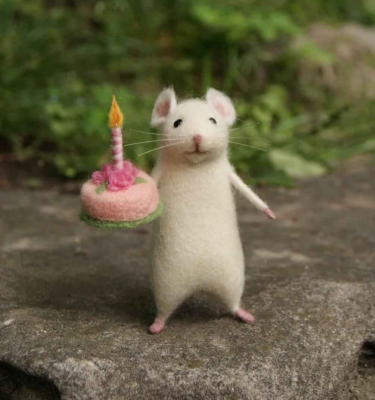 Ảnh happy birthday cho tuổi Tý dễ thương tặng bạn bè
