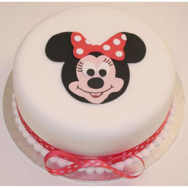 Bánh kem sinh nhật hình chuột Mickey