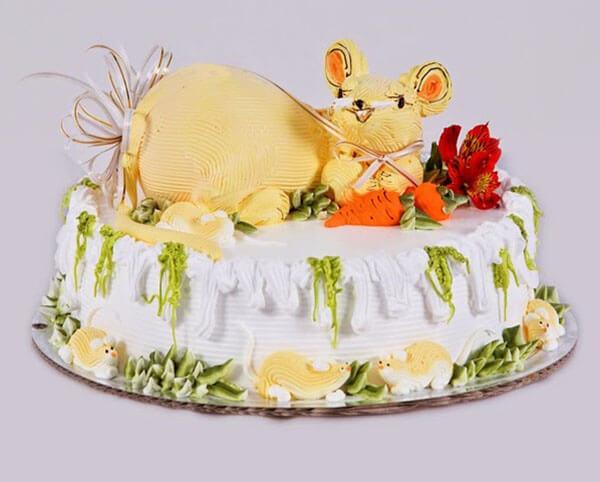 Bánh sinh nhật tuổi chuột 2020 đẹp