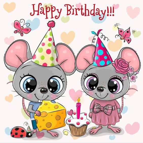 Tổng hợp ảnh chúc mừng sinh nhật cho người tuổi Tý (tuổi chuột)