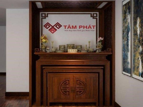 Bàn thờ Tâm Phát – Thương hiệu bàn thờ số 1 Việt Nam