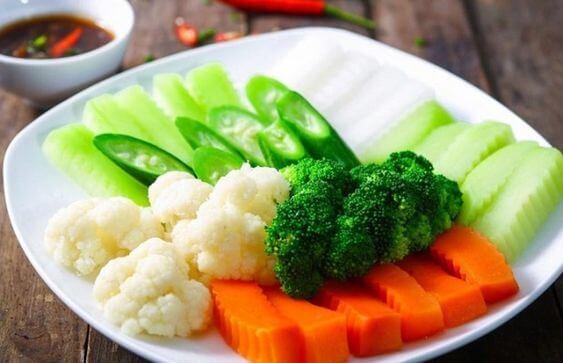 Hấp thu các chất xơ chính là thực đơn giảm mỡ bụng tốt và hiệu quả nhất