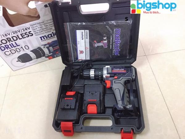 Máy bắn vít bằng pin Makute 10mm CD010 20V