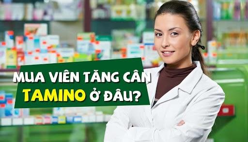 Bạn có thể mua viên tăng cân Tamino ở đâu?