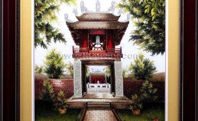 Những mẫu tranh thêu tay về Hà Nội đẹp nhất trong năm 2020