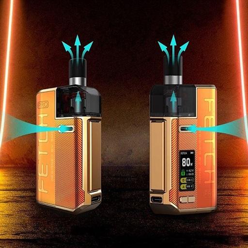 Smok Fetch Pro pod system có hệ thống airflow linh động